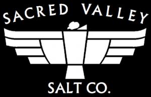 sacred valley salt condor logo white