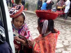 Quechua speaking girls