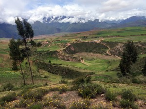 Moray ruins near Maras