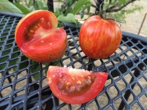 Heirloom Tomato with Salt