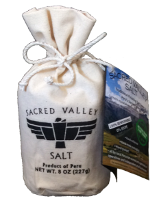 Sacred Valley Salt 8oz pouch