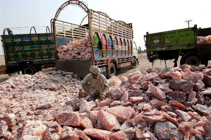 The Story of the Khewra Salt Mine - Source of Himalayan Pink
