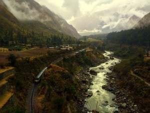 Narrow gauge bypass to Machu Picchu