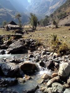 Peruvian high altitude homestead