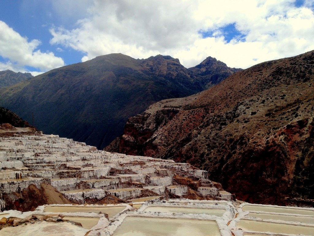 Salineras in the Sacred Valley
