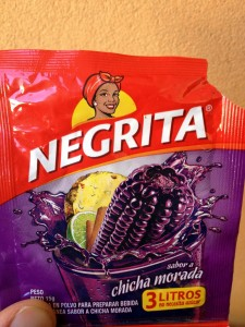 Negrita brand name packaging