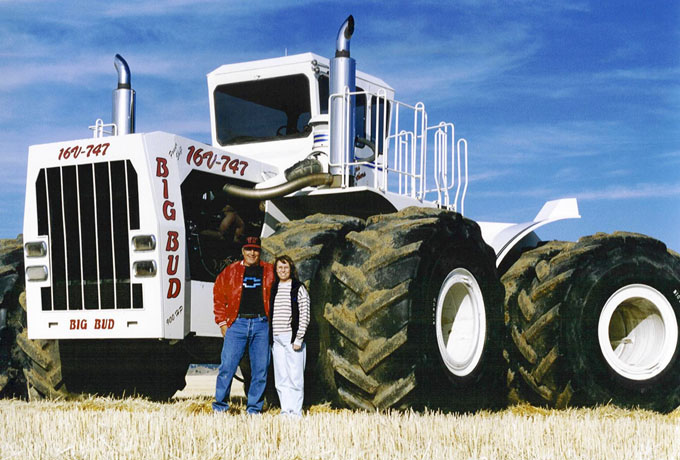 Large Scale Farm Equipment