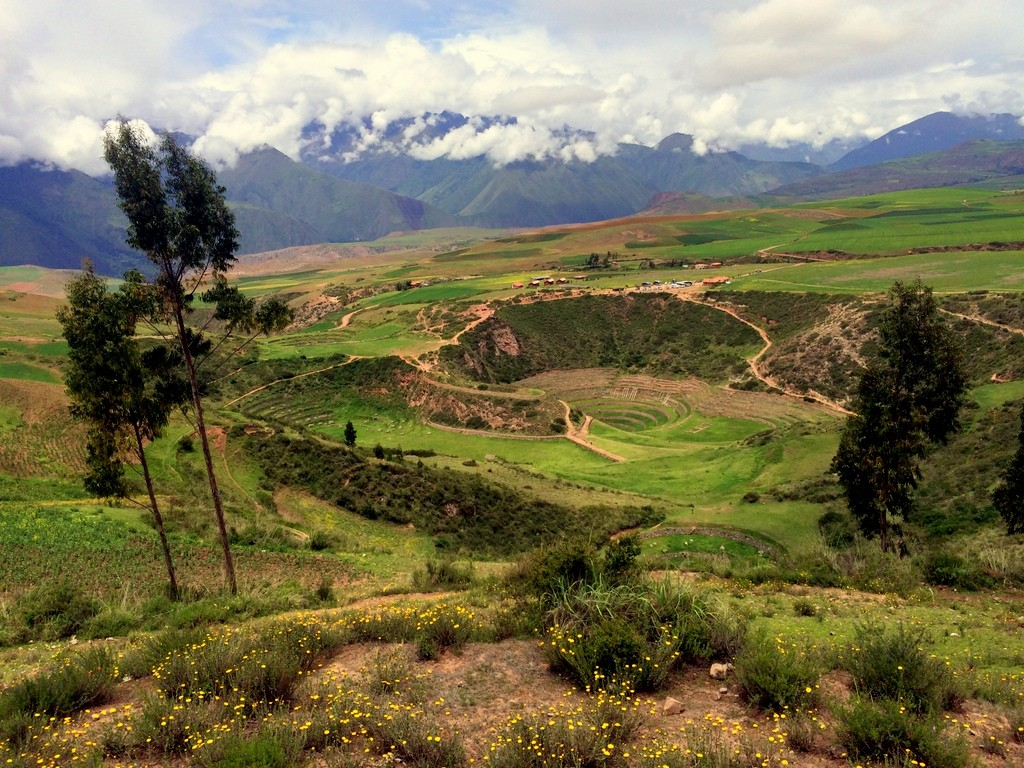 Moray - Incan Agricultural Research Center