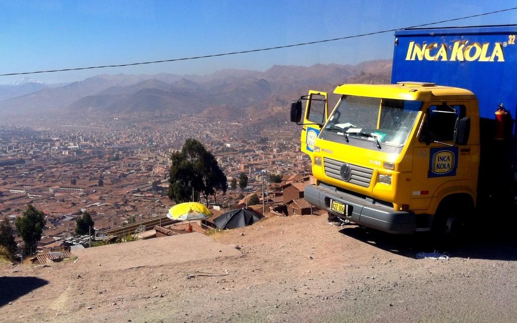 Inka Cola Truck