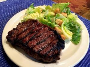 Sacred Valley Salt on Steak