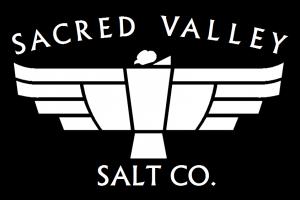 sacred valley salt condor logo black background