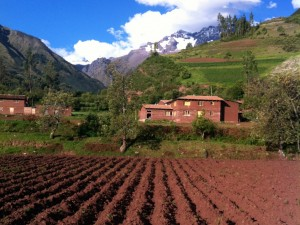 peruvian home in sacred valley