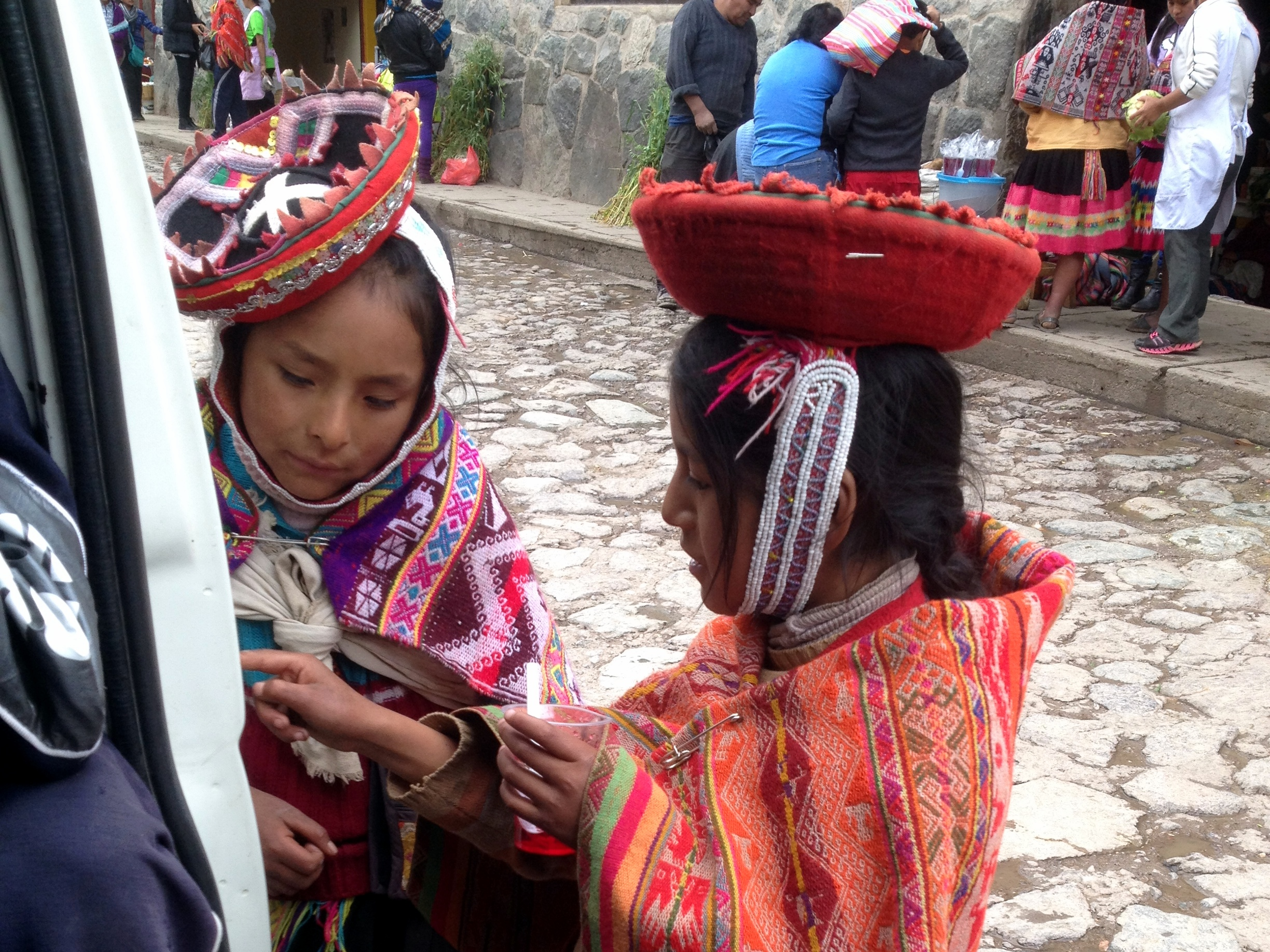 Quechua speaking girls