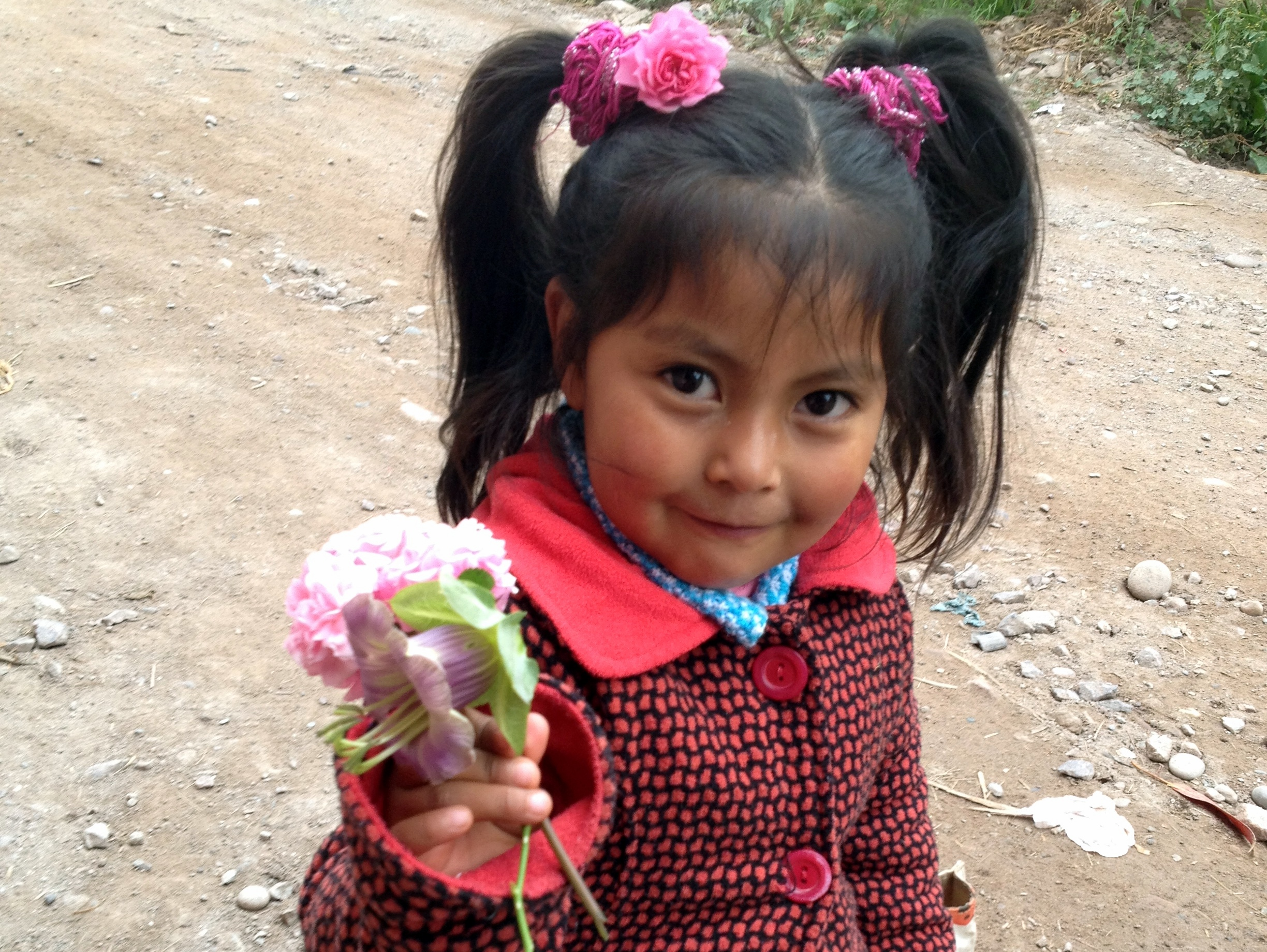 little peruvian girl