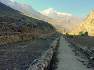 Terraces for Farming near Pisacacucho