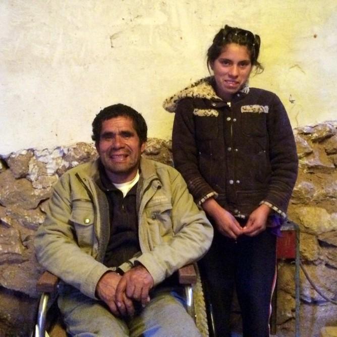 Raul and Roseni Maras Peru