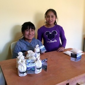 Nilda and Fiorela Urubamba Peru