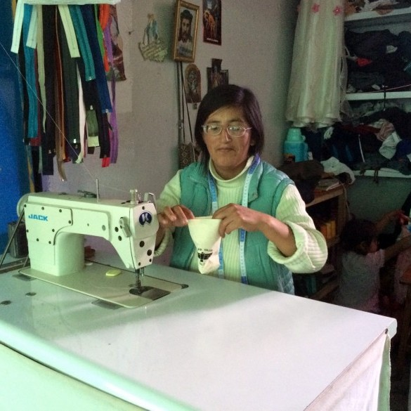 Senora Luzmarina from Urubamba Peru